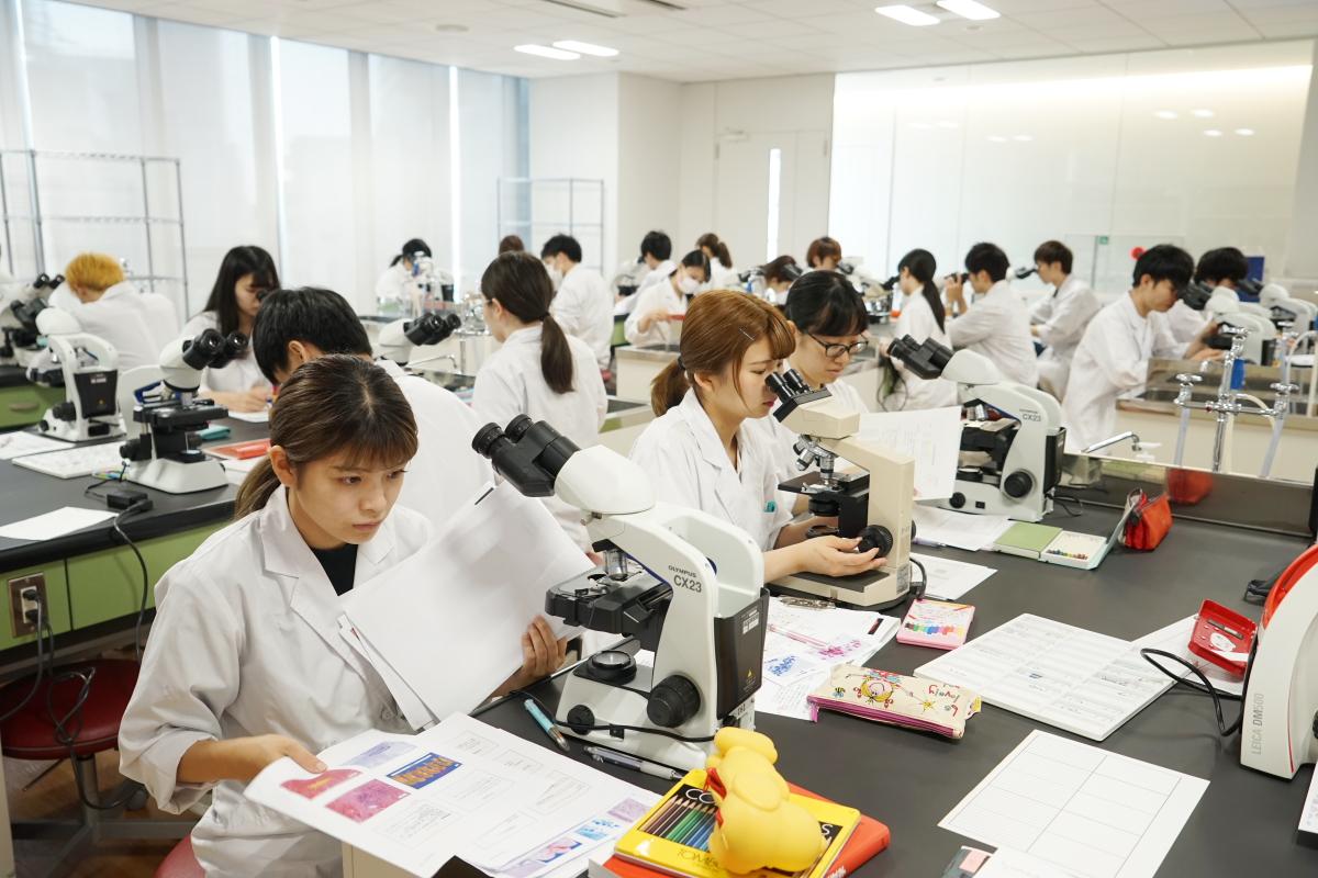 臨床検査学科 細胞診検査実習を行いました!!
