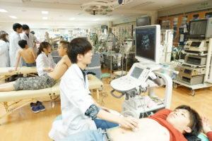 臨床検査学科に新しく超音波装置(エコー)が導入されました!!