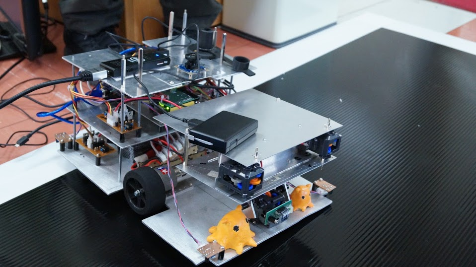 ロボット競技会の準備