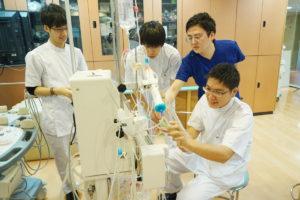 臨床工学科 血液浄化療法技術学実習を行いました!!