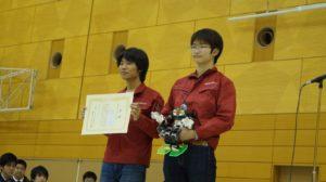 ロボコン全国大会で優秀賞を頂きました!