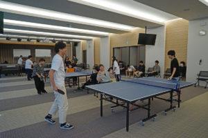 臨床工学科 体育の授業で卓球を行いました!!